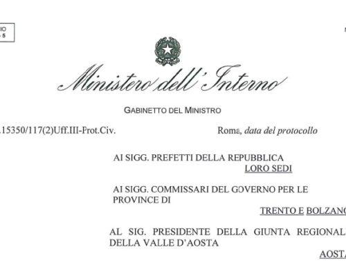 DL n. 19 25 Marzo 2020 – Ministero dell'Interno