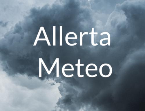 Avviso di condizioni meteorologiche avverse del 14 ottobre 2021